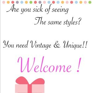 Welcome to a fun Vintage closet!!!